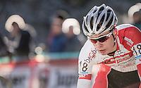 Jarno Liessens (BEL/U23/Iko Enertherm-Beobank)<br /> <br /> 2016 CX Superprestige Spa-Francorchamps (BEL)