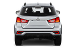 Straight rear view of 2019 Mitsubishi Outlander-Sport GT 5 Door SUV Rear View  stock images