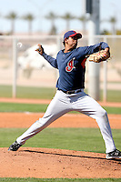 Jose Campos, Cleveland Indians 2010 minor league spring training..Photo by:  Bill Mitchell/Four Seam Images.