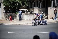 Mads Pedersen (DEN/Trek - Segafredo)<br /> <br /> Stage 20 (ITT) from Libourne to Saint-Émilion (30.8km)<br /> 108th Tour de France 2021 (2.UWT)<br /> <br /> ©kramon