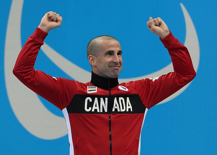 Benoit Huot, Rio 2016 - Para Swimming // Paranatation.<br /> Benoit Huot swims to a bronze medal in the men's 400m freestyle final // Benoit Huot remporte la médaille de bronze dans la finale du 400 m nage libre masculin. 15/09/2016.