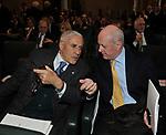 FRANCO MARINI CON BRUNO TABACCI<br /> ROMA 2011