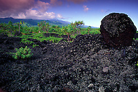 Burials on ancient historic trail with in Waianapanapa, Hana, Maui