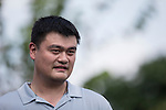 Yao Ming during the World Celebrity Pro-Am 2016 Mission Hills China Golf Tournament on 22 October 2016, in Haikou, China. Photo by Victor Fraile / Power Sport Images