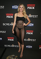 HOLLYWOOD, CA - OCTOBER 12: Gigi Gustin, at the 21st Screamfest Opening Night Screening Of The Retaliators at Mann Chinese 6 Theatre in Hollywood, California on October 12, 2021. Credit: Faye Sadou/MediaPunch
