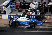 Verizon IndyCar Series<br /> Rainguard Water Sealers 600<br /> Texas Motor Speedway, Ft. Worth, TX USA<br /> Saturday 10 June 2017<br /> Scott Dixon, Chip Ganassi Racing Teams Honda pit stop<br /> World Copyright: Michael L. Levitt<br /> LAT Images