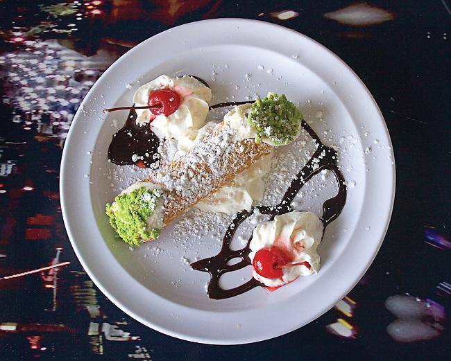 Cannoli, Amore Restaurant, Las Vegas, Nevada