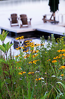 Connecticut meadow garden with native wildflowers; Larry Weaner Design
