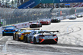 2017 IMSA WeatherTech SportsCar Championship<br /> BUBBA burger Sports Car Grand Prix at Long Beach<br /> Streets of Long Beach, CA USA<br /> Saturday 8 April 2017<br /> 86, Acura, Acura NSX, GTD, Oswaldo Negri Jr., Jeff Segal<br /> World Copyright: Richard Dole/LAT Images<br /> ref: Digital Image RD_LB17_374