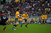 Australia's James O'Connor in action during the Bledisloe Cup rugby union match between the New Zealand All Blacks and Australia Wallabies at Sky Stadium in Wellington, New Zealand on Sunday, 11 October 2020. Photo: Dave Lintott / lintottphoto.co.nz