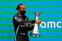 Grand Prix of Hungary Motorsports: FIA Formula One World Championship 2020, Grand Prix of Hungary, 44 Lewis Hamilton GBR, Mercedes-AMG Petronas Formula One Team, *** Local Caption *** Photo: Leonhard Foeger/REUTERS/FIA Pool via HOCH ZWEI Budapest Hungary Poolfoto HOCH ZWEI/Pool/REUTERS ,EDITORIAL USE ONLY<br /> Hungaroring, Mogyorod, Hungary 19/07/2020 <br /> Formula 1 GP Ungheria <br /> Foto Imago/Insidefoto <br /> ITALY ONLY