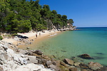 Greece, Thessaly, Northern Sporades, Island Skiathos, Maratha: Secluded beach | Griechenland, Thessalien, Noerdliche Sporaden, Insel Skiathos, Maratha: einsamer Strand