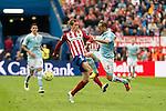 Atletico de Madrid's Fernando Torres and Celta de Vigo's Marcelo Diaz during La Liga Match at Vicente Calderon Stadium in Madrid. May 14, 2016. (ALTERPHOTOS/BorjaB.Hojas)