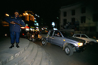 Military curfew in Durbar square Kathmandu city Nepal..-The full text reportage is available on request in Word format
