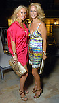 Joyce Echols and Caroline Adams at the Park Place pool party Saturday night June 20, 2009.(Dave Rossman/For the Chronicle)