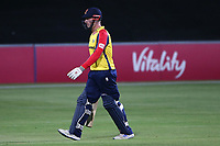 Simon Harmer of Essex leaves the field having been dismissed for 12 during Essex Eagles vs Hampshire Hawks, Vitality Blast T20 Cricket at The Cloudfm County Ground on 11th June 2021