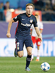 Atletico de Madrid's Saul Niguez during Champions League 2015/2016 match. September 30,2015. (ALTERPHOTOS/Acero)