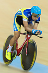 Ko Siu Wai of the IND competes in Men Elite - Individual Pursuit Qualifying during the Hong Kong Track Cycling National Championship 2017 on 25 March 2017 at Hong Kong Velodrome, in Hong Kong, China. Photo by Chris Wong / Power Sport Images
