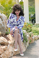 ARCHIVE: CANNES, FRANCE. c. May 1989: Joan Collins at the Cannes Film Festival.<br /> File photo © Paul Smith/Featureflash