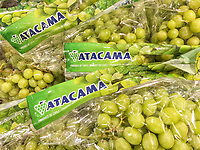 Green grapes from Atacama in Chile
