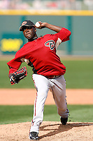 Leyson Septimo - Arizona Diamondbacks - 2009 spring training.Photo by:  Bill Mitchell/Four Seam Images