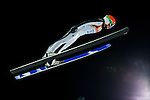 Elena Runggaldier of Italy compete during the Ski Jumping Ladies' Normal Hill Individual as part of the 2014 Sochi Olympic Winter Games at RusSki Gorki Jumping Center on February 11, 2014 in Sochi, Russia. Photo by Victor Fraile / Power Sport Images