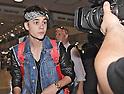 Justin Bieber and Selena Gomez Arrive in Japan