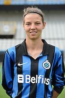 Club Brugge Vrouwen : Nicky Van Den Abbeele<br /> foto David Catry / nikonpro.be