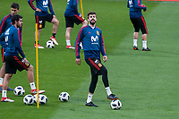 Spain Gerard Pique during training session the day before Spain and Argentina match at Wanda Metropolitano in Madrid , Spain. March 26, 2018. (ALTERPHOTOS/Borja B.Hojas) /NortePhoto NORTEPHOTOMEXICO