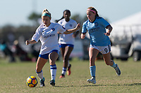 Lakewood Ranch, FL - Sunday Dec. 10, 2017: Shelby Craft (25) 2017 Development Academy Winter Showcase & Nike International Friendlies at Premier Sports Campus at Lakewood Ranch, FL.