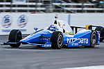 Verizon IndyCar Series driver Scott Dixon (9) in action during the RainGuard 600 race at Texas Motor Speedway in Fort Worth,Texas.