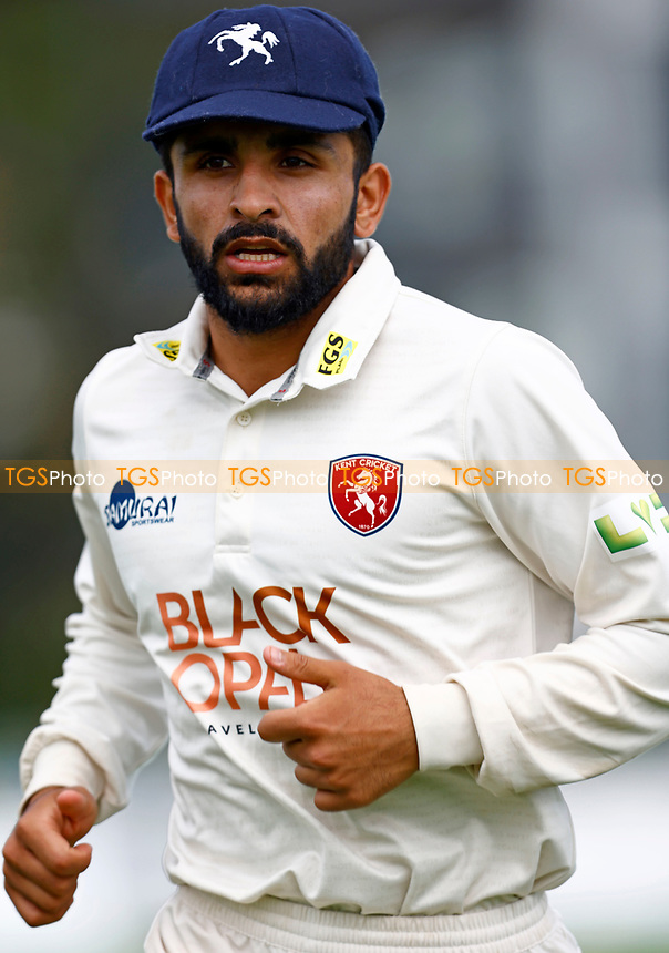 Hamid Qadri of Kent during Kent CCC vs Sussex CCC, LV Insurance County Championship Group 3 Cricket at The Spitfire Ground on 13th July 2021