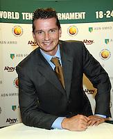12-10-07, Netherlands, Zoetermeer, ABNAMROWTT persconferentie, Richard Krajicek toernooi directeur