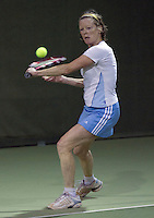 12-03-11, Tennis, Hilversum, Nora Blom