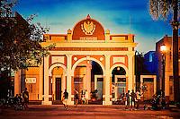 Marti Park in Cienfuegos, Cuba