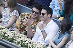 Spanish actor Miguel Angel Silvestre during Madrid Open Tennis 2015 Final match.May, 10, 2015.(ALTERPHOTOS/Acero)
