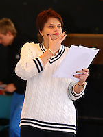 PHOTO BY © STEPHEN DANIELS   <br /> Jade Goody in rehearsal for Snow White and the Seven Dwarfs