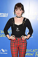 """Maisie Williams<br /> arriving for the premiere of """"The Miseducation of Cameron Post"""" screening at Picturehouse Central, London<br /> <br /> ©Ash Knotek  D3424  22/08/2018"""