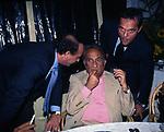CLEMENTE MIMUN ED EMILIO FEDE<br /> FESTA PER I 60 ANNI DI MAURIZIO COSTANZO<br /> MANEGGIO DI GIANNELLA  1998