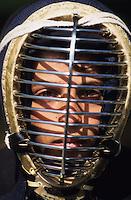 Bulgarien Kazanlak, Junge mit Fechtmaske / BULGARIA Kazanlak, boy with fence mask