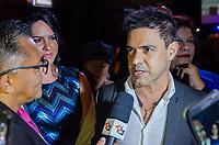 SAO PAULO, SP, 04.09.2019 - SHOW-SP - Zezé di Camargo, cantor durante show do cantor Roberto Carlos na noite desta quarta-feira. 04, no Espaço das Américas, zona oeste de São Paulo. (Foto: Anderson Lira/Brazil Photo Press/Folhapress)