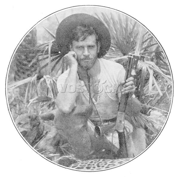 PERCY H FAWCETT British explorer in Brazil who disappeared in 1925. / Illustrazione Italiana 1932 / circa 1868 - 1925?