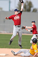 January 16, 2010:  Tiger Miller (Pleasant Garden, NC) of the Baseball Factory East Team during the 2010 Under Armour Pre-Season All-America Tournament at Kino Sports Complex in Tucson, AZ.  Photo By Mike Janes/Four Seam Images