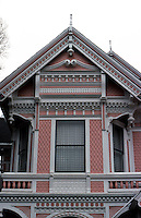 Eureka CA:  Carson  (The Younger)  House. Detail.  Photo '83.