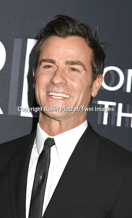 """actor Justin Theroux attends """"The Girl on the Train"""" New York Premiere on October 4, 2016 at Regal E-Walk Stadium 13 & RPX  in New York,New York,  USA.<br /> <br /> photo by Robin Platzer/Twin Images<br />  <br /> phone number 212-935-0770"""