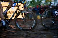 muddy wheel sucker<br /> <br /> Superprestige Gavere 2014