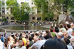 Third Angle Ensemble at the Halpern Fountain, Portland, Oregon
