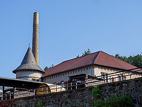 Schmiede und Kraftzentrale, Rammelsberg, Museum und Besucherbergwerk, Goslar, Niedersachsen, Deutschland, Europa, UNESCO-Weltkulturerbe<br /> Smithery and power house, Rammelsberg - Museum and show mine, Goslar, Lower Saxony,, Germany, Europe, UNESCO Heritage Site