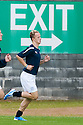 16/10/2010   Copyright  Pic : James Stewart.sct_jsp007_stirling_v_dundee  .:: IS THIS AN OMEN??? LEAH GRIFFITHS HEADS TOWARDS THE EXIT DURING WARM UP  ::  .James Stewart Photography 19 Carronlea Drive, Falkirk. FK2 8DN      Vat Reg No. 607 6932 25.Telephone      : +44 (0)1324 570291 .Mobile              : +44 (0)7721 416997.E-mail  :  jim@jspa.co.uk.If you require further information then contact Jim Stewart on any of the numbers above.........