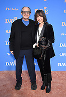 """LOS ANGELES, CA - JUNE 10: David Paymer and Gina Hecht attend the Season Two Red Carpet event for FXX's """"DAVE"""" at the Greek Theater on June 10, 2021 in Los Angeles, California. (Photo by Frank Micelotta/FXX/PictureGroup)"""